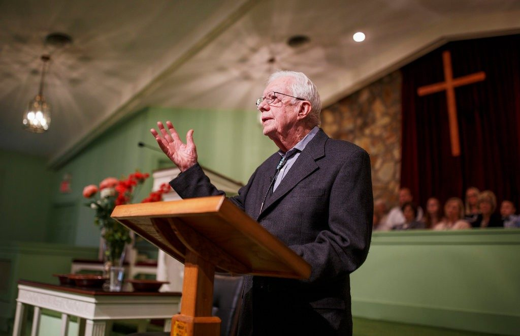 Going to Church With Jimmy CarterThe New York Times, 16 April 2018